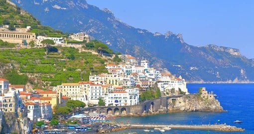 Picturesque Amalfi is a highlight of your trip to italy
