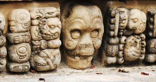 Visit mysterious Copan on your trip to Hondouras