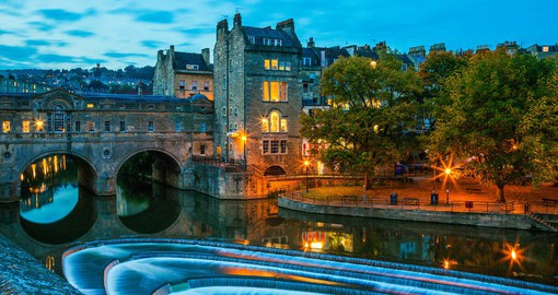 Bath combines vibrant contemporary culture with a rich history and heritage