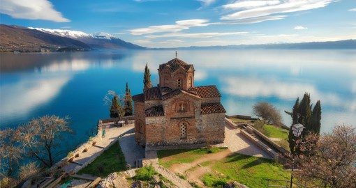North Macedonia's Lake Ohrid boasts a perfectly preserved old town and medieval castle