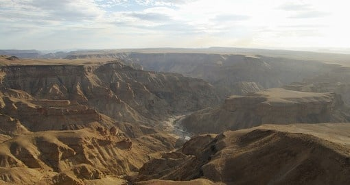 Explore fish River Canyon in Namibia
