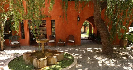 Enjoy yoru stay at Finca Adalgisa on your Argentina vacation