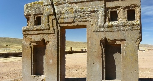 The ancient city of Tiwanaku