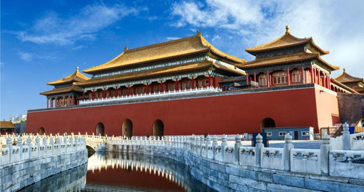Included in your China Tours is a full day at the Forbidden City