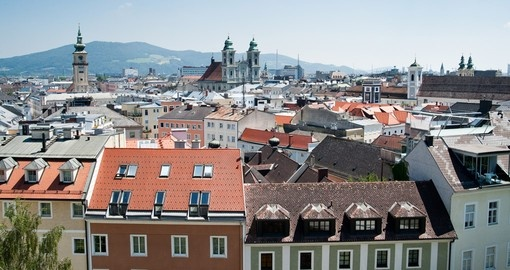 Visit Linz small beautiful city located in between Vienna and Salzburg on your next trip to Europe with Goway.