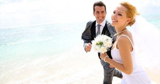 Get married on one of the worlds most beautiful islands