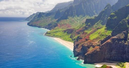 hawaii nature wildlife travel goway coast pali na usa pacific australia isolation