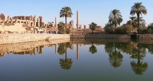 Temple complex in Luxor