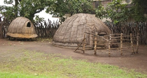 Visit a Zulu house while on your South Africa tour.
