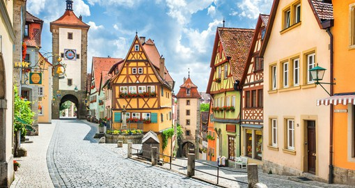 Experience one of the oldest and most beautiful cities in Romantic Germany as part of your travels to Germany