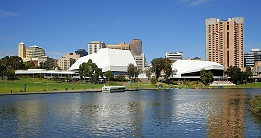 Adelaide and the River Torrens