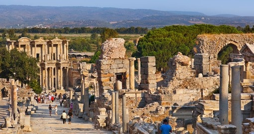 Explore the ancient city Ephesus during your next Turkey tours.