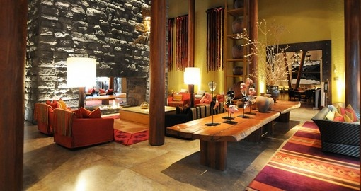 Experience all the amenities the Tambo del Inca Hotel can offer during your stay in Peru.