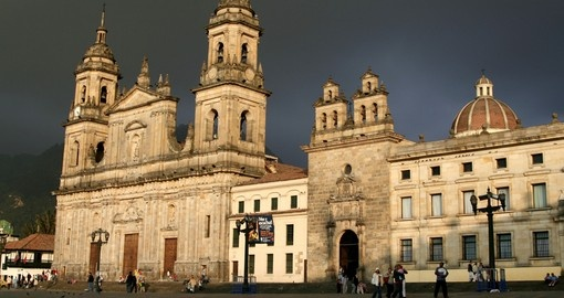 Experience the Archbishops Cathedral on your next trip to Colombia.