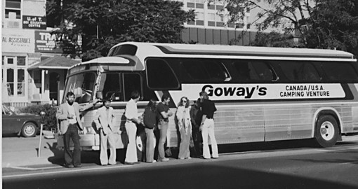 Goway pioneered overland touring in the Americas