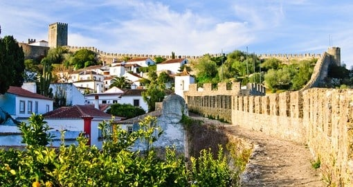 Explore and experience medieval town of Obidos in Portugal.