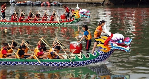 Kaohsiung dragon boat races