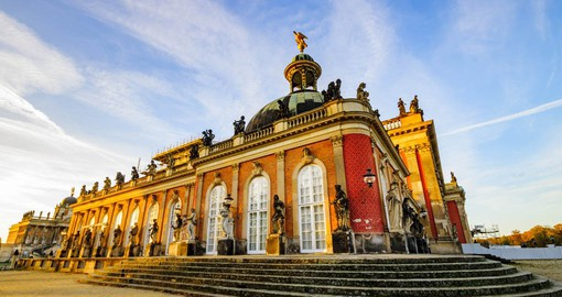 Potsdam-Sanssouci has a unique array of gardens and palaces and is listed as a World Heritage Site