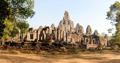 Take in historic Angkor Wat on your Cambodia Tour