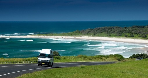 Discover beautiful beaches and bays abound on your next trip to Australia.