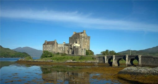 Explore Eilean Donan Castle 13 century's gem during your next England vacations.