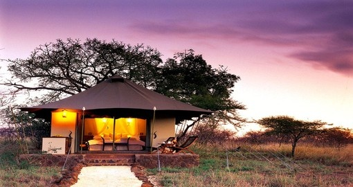 Your 4 day South Africa vacation features the White Elephant Safari Lodge