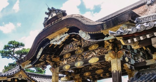 Visit the Nijo Castle in Kyoto on your Japanese Vacation
