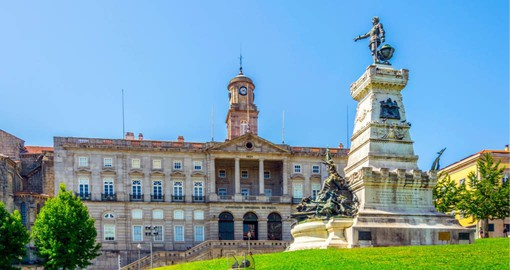Dating from 1842, Palacio da bolsa is a Neoclassical building housing Porto's stock exchange