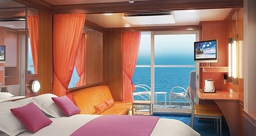 The Mini Suite on the Norwegian Jewel