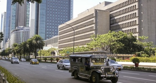 Ayala Avenue is one of Manila's busiest streets