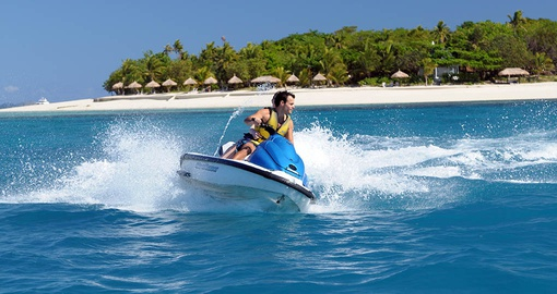 Have fun with water sports on your trip to Fiji