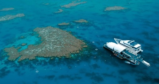 Experience the wonders of The Great Barrier Reef on your Australia Vacation