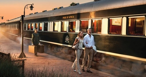 Enjoy your ride on Luxurious Rovos Rail on your South Africa Tour
