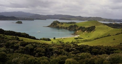 Urupukapuka Island is the largest island in the Bay of Islands