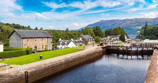 Fort Augustus lies on the impressive 60 mile long Caledonian Canal
