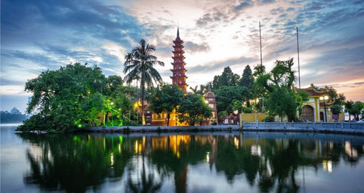 Your Vietnam vacation finishes in Hanoi, the capital city