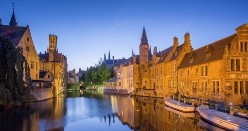 Include a visit to Bruges on your Belgium Vacation