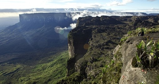 View from the plateau Roraima