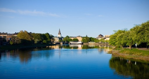 You will visit Karlstad City during your trip to Sweden