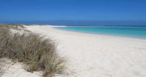 View of Turquoise Bay, Ningaloo Coast & Cape Range National Park. A must-see during any Australia Vacation.