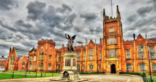 Queen's University, a world-renowned academic institution boasts over 160 years of heritage