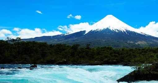 See breathtaking Osorno Volcano on your Chile Vacation
