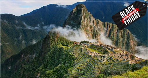 Include a visit to mystical Mach Picchu on your trip to Peru
