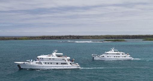 MV Coral I Coral I and II - Sister ships in the Galapagos