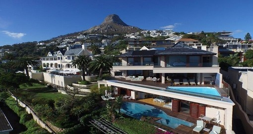 Your South African vacation includes a stay at the Ellerman House in Cape Town.