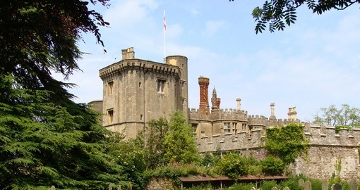 Discover this amazing Thornbury Castle during your next trip to England.