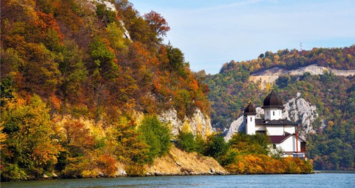 Experience the Mraconia Monastery on the Danube River in Romania