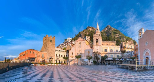 Taormina is Sicily's most historic and picturesque towns