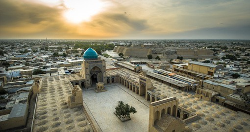 The city of Bukhara is a great place to learn and experience the history of the silk road on your Uzbekistan Vacation