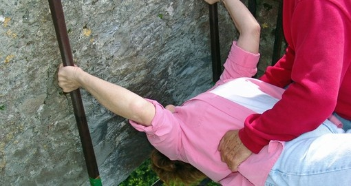 Will you kiss the Blarney Stone?